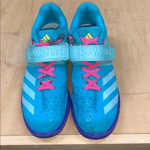 Adidas powerlifter shoes